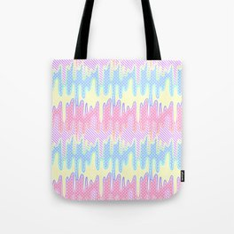 Melty Patterned Slime Tote Bag