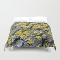 moss Duvet Covers featuring Moss by Katerina Koza