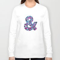 ampersand Long Sleeve T-shirts featuring Ampersand by Mister Phil