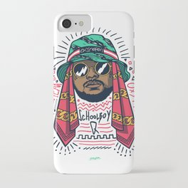 SchoolboyQ iPhone Case