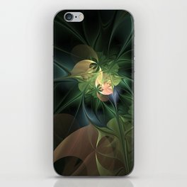 Fractal Floral Fantasy iPhone Skin