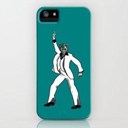 Saturday Night Cyberman iPhone Case
