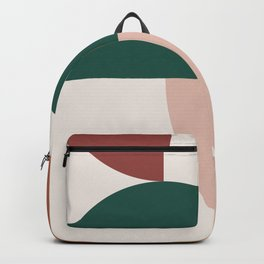 Abstract Geometric 12 Backpack