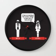 Boy Meets Girl Alt. Wall Clock