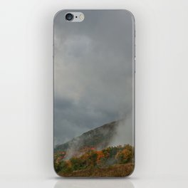 Dolly Sods Mountain Fog iPhone Skin