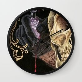 Thirst for Ink Wall Clock