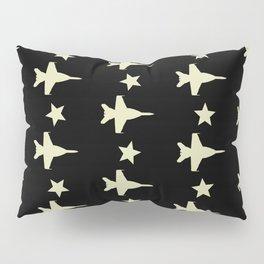 F-18 Hornet Fighter Jet Pattern Pillow Sham