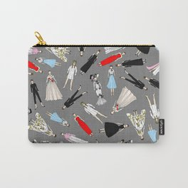 Audrey Fashion Whimsical Layout Carry-All Pouch