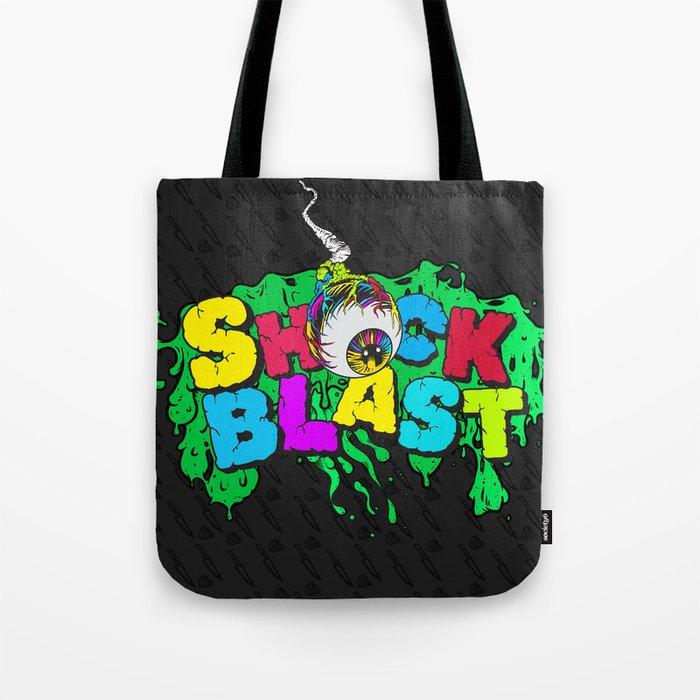 Original ShockBlast x Tumblr Classic Grime Logo Tote Bag