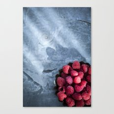 Red Raspberries - Yummy!  Canvas Print