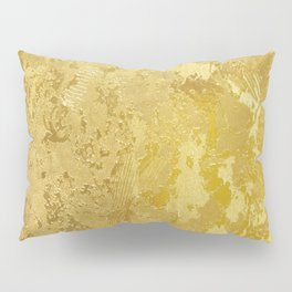 golden vintage Pillow Sham