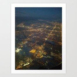 Denver in Plane Sight Art Print