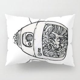 Kuma TV-Head Pillow Sham