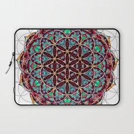 Flower of Life Mandala Laptop Sleeve