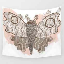 ghost moth Wall Tapestry