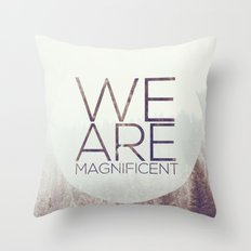 Magnificent Throw Pillow