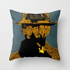 The Usual suspects Throw Pillow