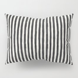 geo brush stripe vertical Pillow Sham