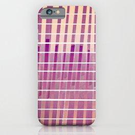 Purple Lines S18 iPhone Case