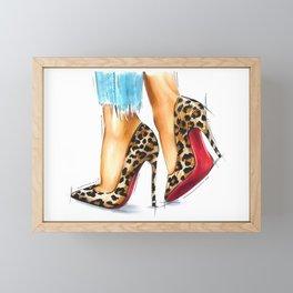 City girl Framed Mini Art Print