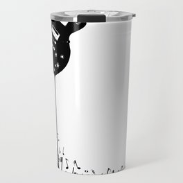 Bubbling Musical Notes Travel Mug