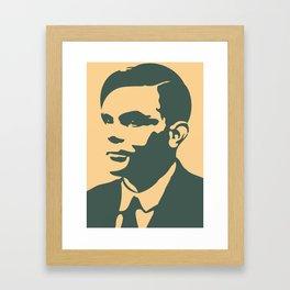 Che Turing Framed Art Print