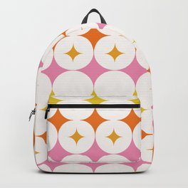 Abstraction_STAR_LOVE_POP_ART_Minimalism_001X Backpack