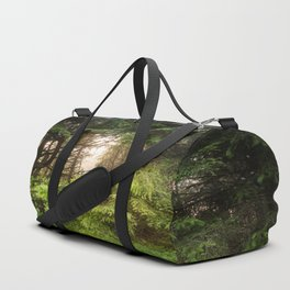 The Light Within - Beauty in the Washington Rain Forest Duffle Bag