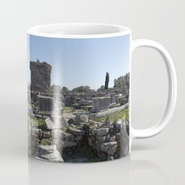 Excavations of Gortyn Coffee Mug