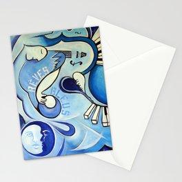 Reves Bleus (blue dreams) Stationery Cards