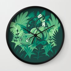 The Gardener Wall Clock