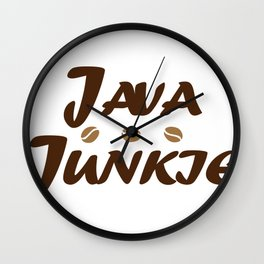coffee3 Wall Clock
