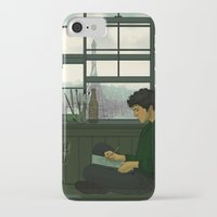 grantaire iPhone & iPod Cases featuring Grantaire by rdjpwns