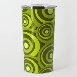 Green Ring - Geometrical Pattern Travel Mug