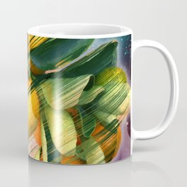 Small fruit tree in outer space Coffee Mug