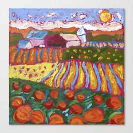 Iowa Barn Canvas Print