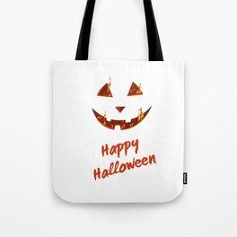 happy halloween bonfire Pumpkin gift hallowe Tote Bag