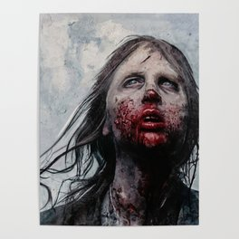 The Lone Wandering Walker - The Walking Dead Poster