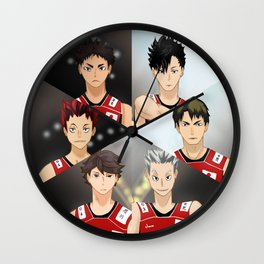 Haikyuu Dream Team Wall Clock
