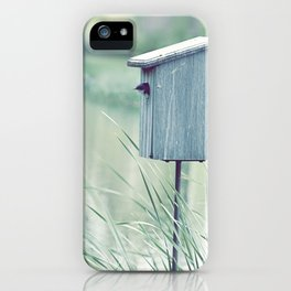 {Swallow House} iPhone Case
