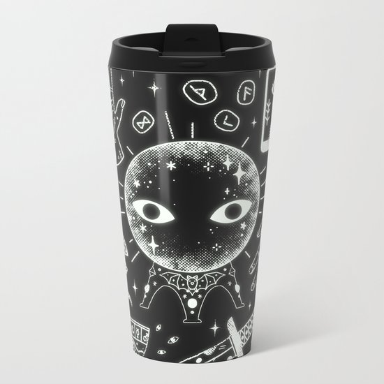 I See Your Future: Glow Metal Travel Mug