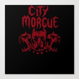 City Morgue Canvas Print