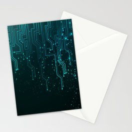 Aqua Tech Stationery Cards