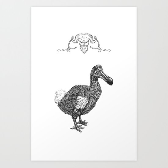 Grotesque - Dodo Art Print