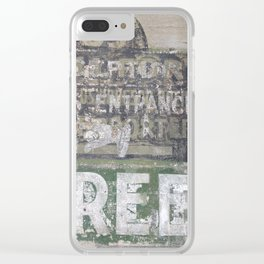 Montreal Architectural Details Clear iPhone Case