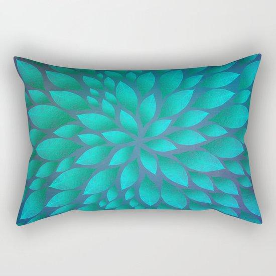 Petal Burst #14 Rectangular Pillow