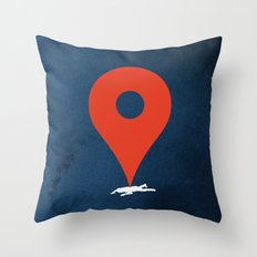 Pinned Throw Pillow