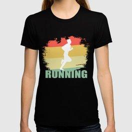 Hipster Running T Shirt T-shirt