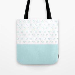 Ducklings Mint Tote Bag