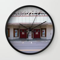 american Wall Clocks featuring American by Jon Cain